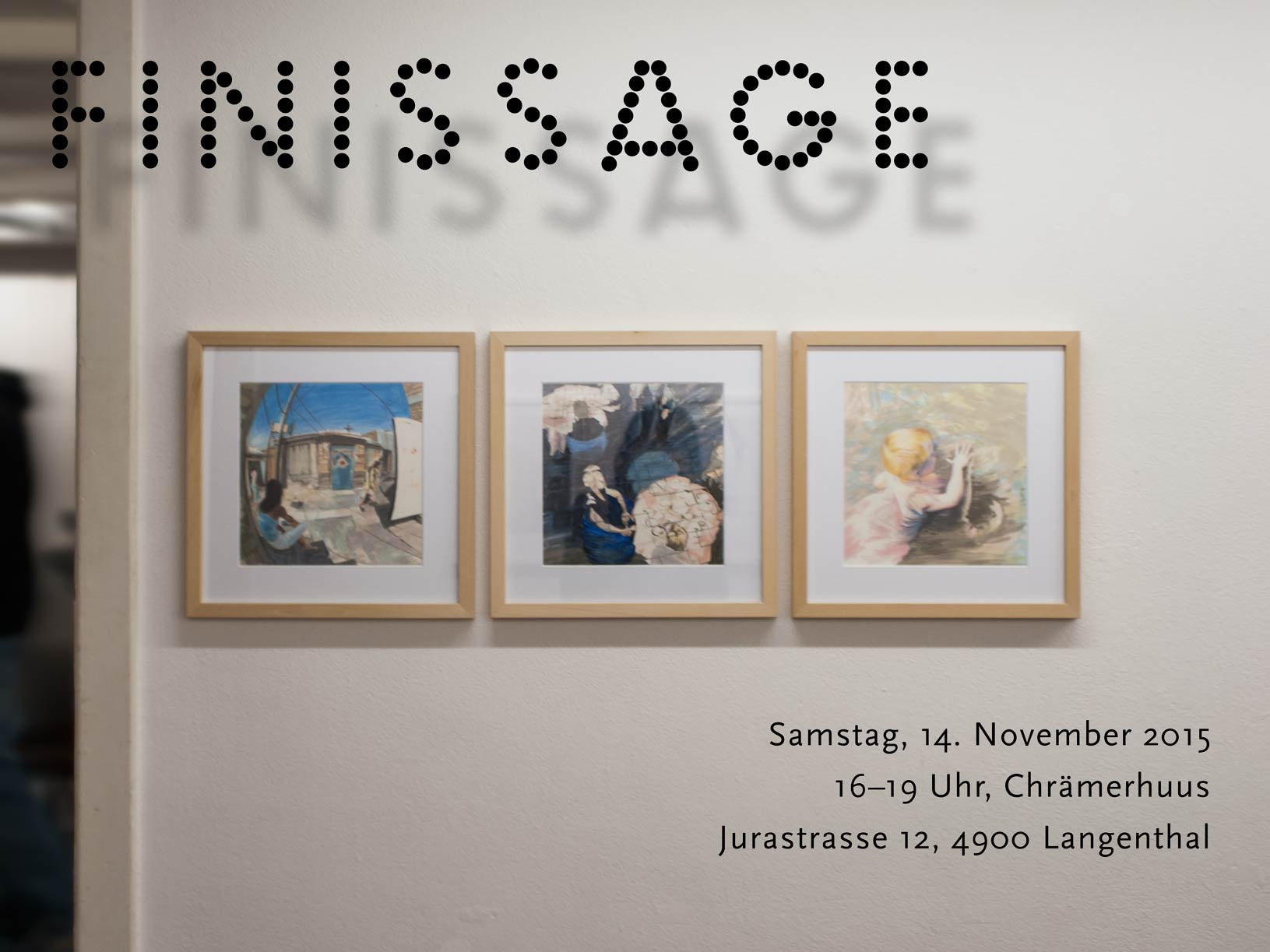 Graphic Finissage Invitation